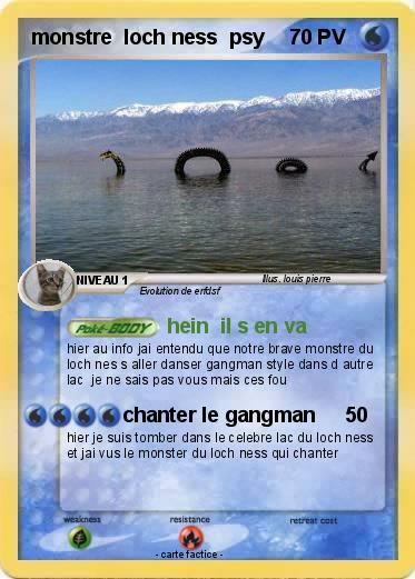 Pokemon monstre  loch ness  psy