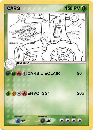 Pokemon CARS