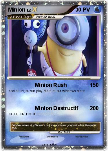 Pokemon Minion