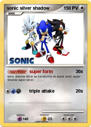 Pokemon sonic silver shadow