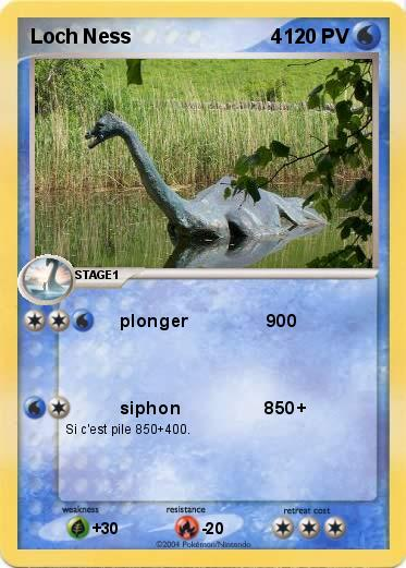 Pokemon Loch Ness                         4
