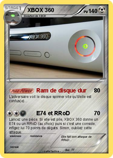 Pokemon XBOX 360