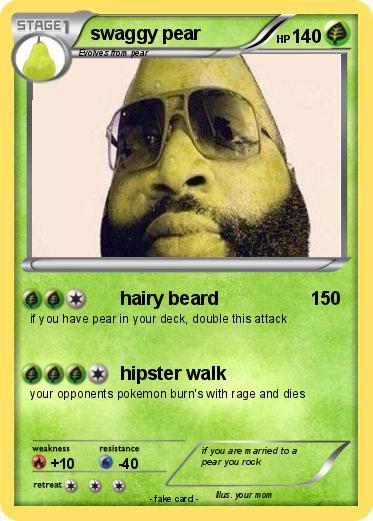 Rick Ross Pear Face