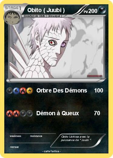 Pok mon obito juubi orbre des d mons ma carte pok mon - Rikudo a imprimer ...