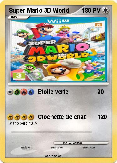Pokémon Super Mario 3D World 3 3 - Etoile verte - Ma carte ...