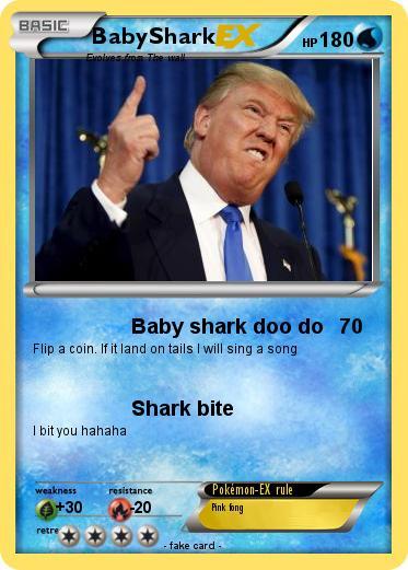 Pokémon Donald Trump 3988 3988