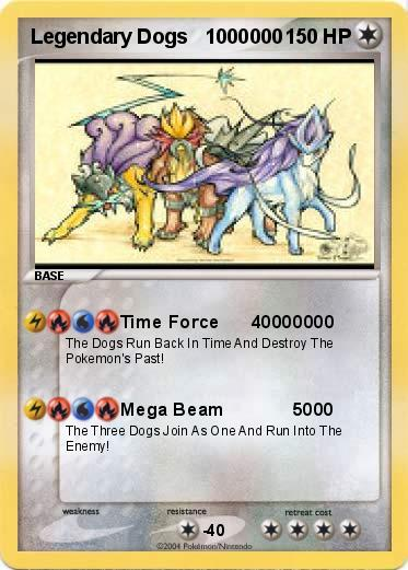 Pokemon Cards Legendary Dogs Image Gallery HCPR