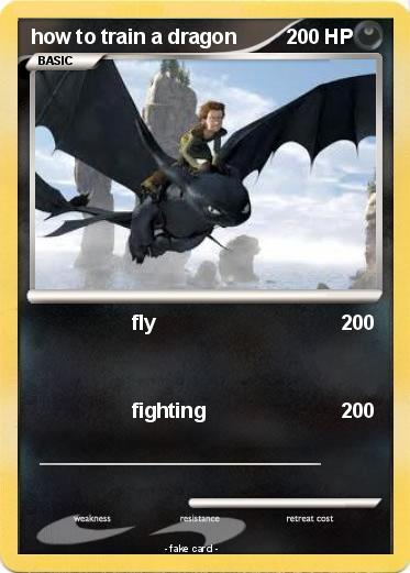 Pok mon how to train a dragon