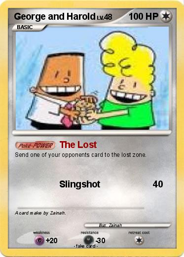 Pok 233 Mon George And Harold 1 1 The Lost My Pokemon Card