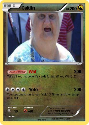 Pokémon Caitlin 35 35 - Wat - My Pokemon Card