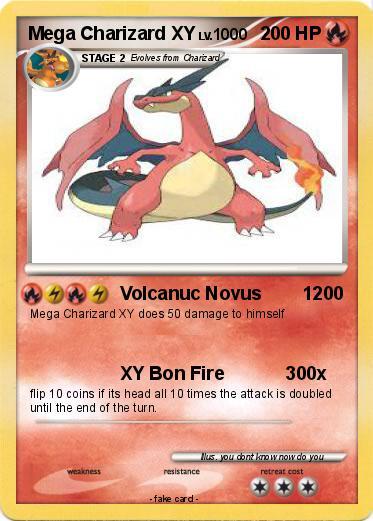 Pok mon mega charizard xy volcanuc novus 1200 my - Pokemon xy mega pokemon ...