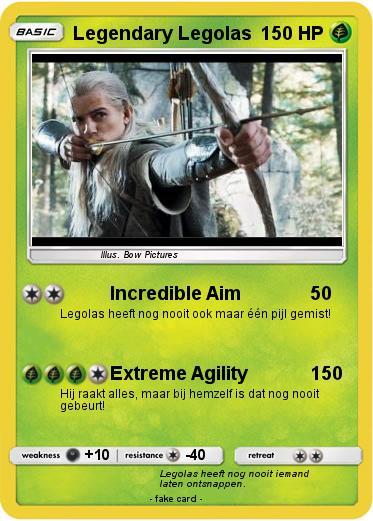 Pokémon Legendary Legolas - Incredible Aim - My Pokemon Card