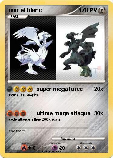 pok u00e9mon noir et blanc 16 16 - super mega force