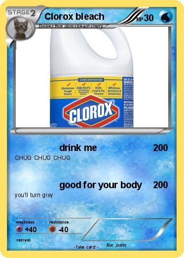Pokemon Clorox Bleach 13
