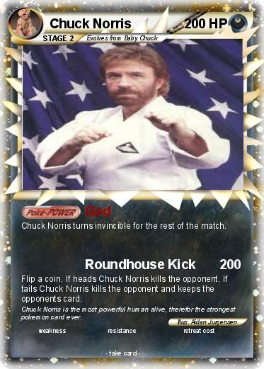 Chuck Norris Pokemon