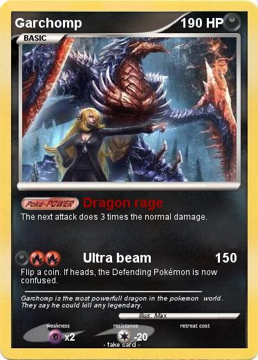 pokemon garchomp