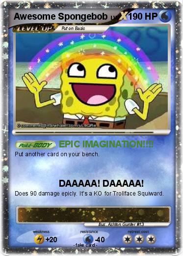 pok233mon awesome spongebob epic imagination my