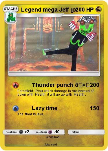 Pokémon Legend mega Jeff gx - Thunder punch 🤛 - My Pokemon ...