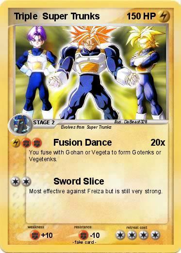 pokémon triple super trunks fusion dance my pokemon card