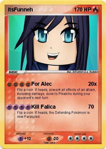 pokémon itsfunneh for alec my pokemon card