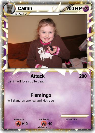 Pokémon Caitlin 31 31 - Attack - My Pokemon Card