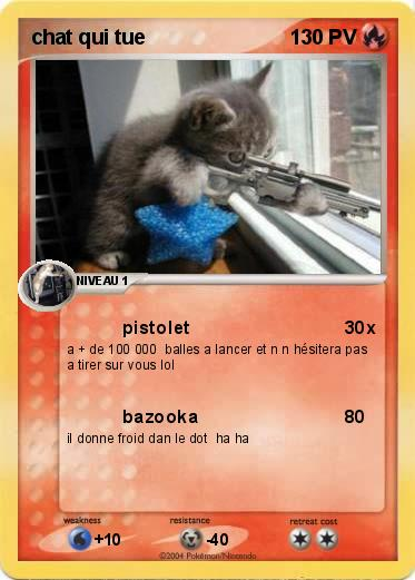 Cartes chat humoristique | Etsy