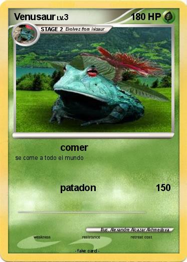 Pokémon Venusaur 373 373 - comer - My Pokemon Card