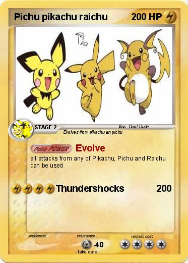 the evolved form of pikachu - nomadconvoy.co