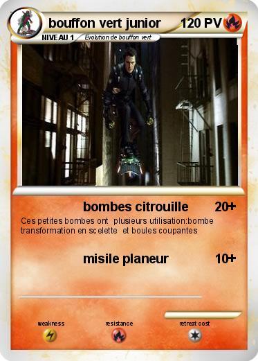 Pok mon bouffon vert junior bombes citrouille ma carte pok mon - Bouffon vert coloriage ...