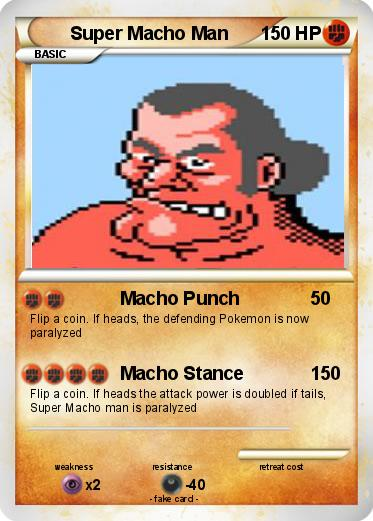 super macho man