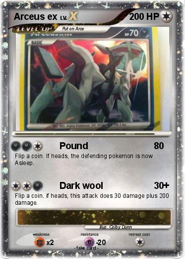 Pok mon arceus ex 124 124 pound my pokemon card - Pokemon arceus ex ...