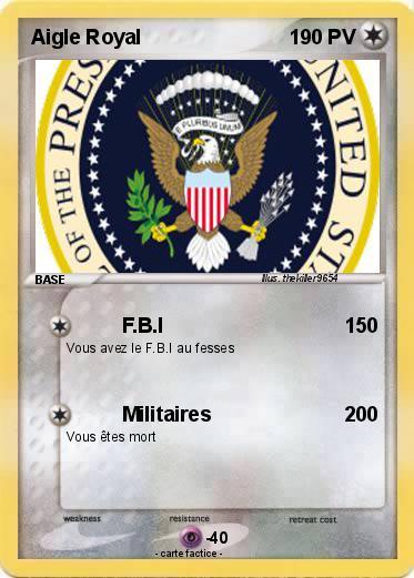 carte fbi a imprimer
