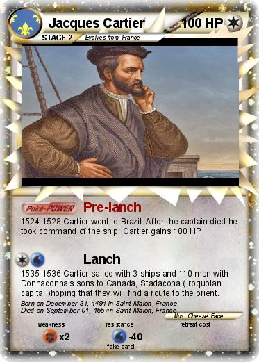 Pokémon Jacques Cartier 7 7 - Pre-lanch - My Pokemon Card