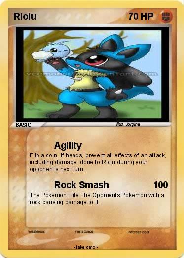Pokémon Riolu 300 300 - Agility - My Pokemon Card