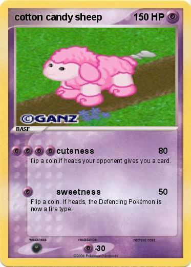 Pokemon Cotton Candy Sheep