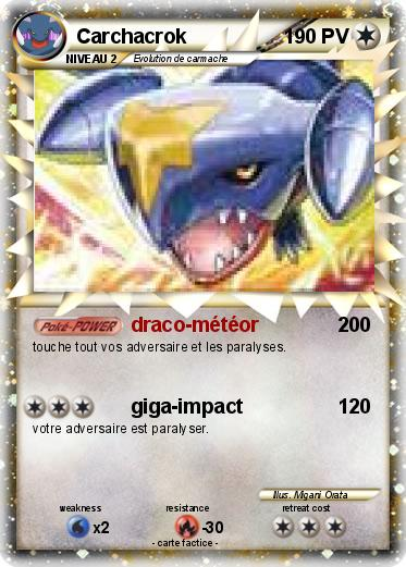 pokemon carchacrok