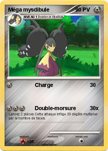 Pokémon Mega Mysdibule Charge Ma Carte Pokémon