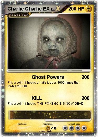 pokémon charlie charlie ex ghost powers my pokemon card