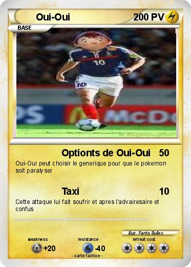 Pokémon Oui Oui 32 32 Optionts De Oui Oui Ma Carte Pokémon