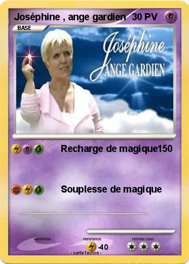 Pok mon josephine ange gardien 1 1 recharge de magique - Dessin d ange gardien ...