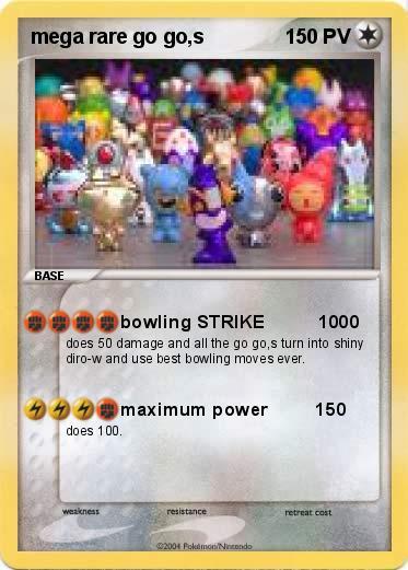 Pok mon mega rare go go s bowling strike 1000 ma carte - Photo de pokemon rare ...