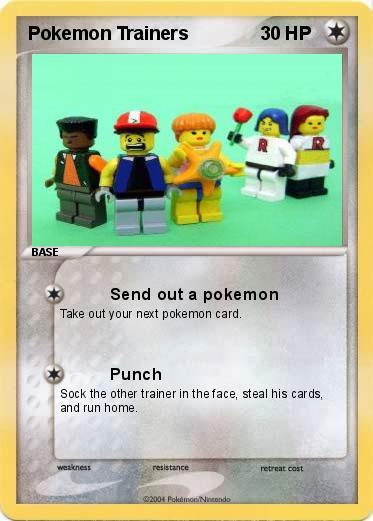Pok mon Pokemon Trainers Send out a pokemon My Pokemon