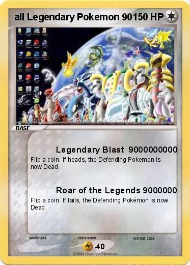 Pok mon All Legendary Pokemon Kanto