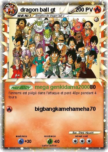 Pok mon dragon ball gt 2 2 mega genkidama2000 ma carte pok mon - Carte pokemon dragon ...