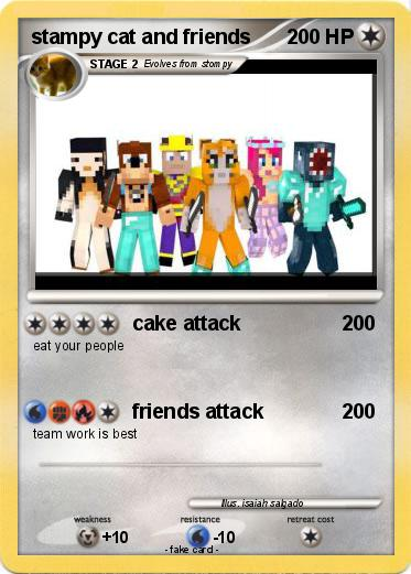 pokemon stampy cat and friends