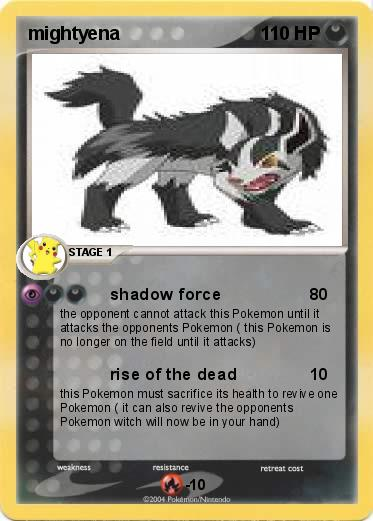 pokemon mightyena
