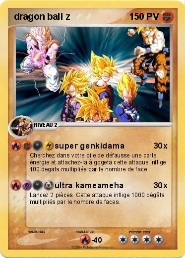 Pok mon dragon ball z 2 2 super genkidama ma carte pok mon - Carte pokemon dragon ...