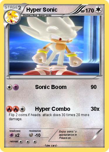 Pok 233 Mon Hyper Sonic 436 436 Sonic Boom My Pokemon Card