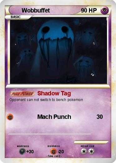 Pok 233 Mon Wobbuffet 30 30 Shadow Tag My Pokemon Card