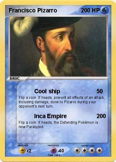 pokémon francisco pizarro 23 23 cool ship my pokemon card